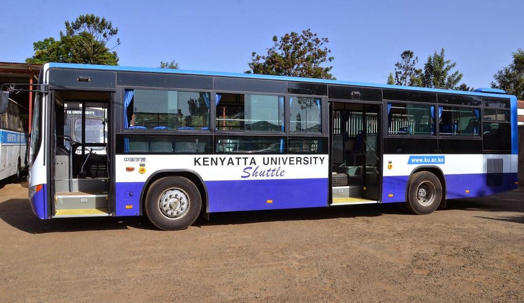 Kenyatta university launches intra campus bus shuttle for K u student portal