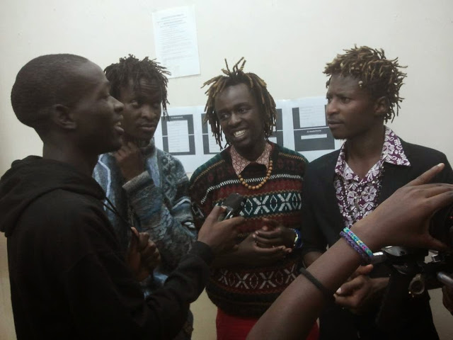 KU FM & KUTT'S DON THE BLACK IN AN EXCLUSIVE INTERVIEW WITH H ART THE BAND H_ART THE BAND Lovephobic Performance in Kenyatta University