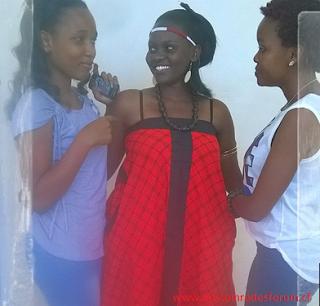 Bertha Akinyi and friends Nemo