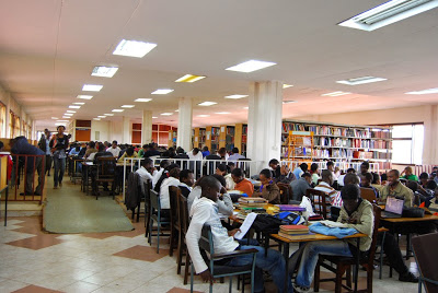Kenyatta University Library Inside