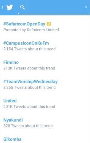 #CampusIconOnKUFM Trending on twitter.