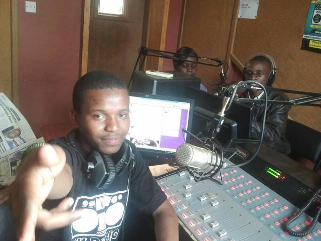 Amos Njeru - Presenter at 99.9 K.U FM