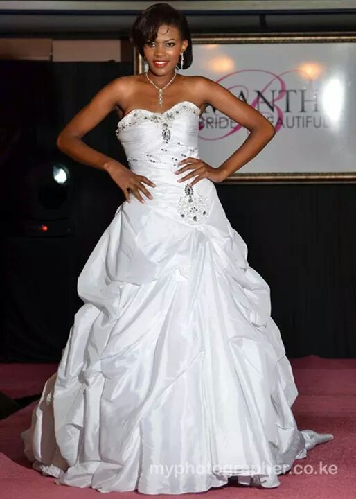 Rose Macharia at Samatha's Bridal show