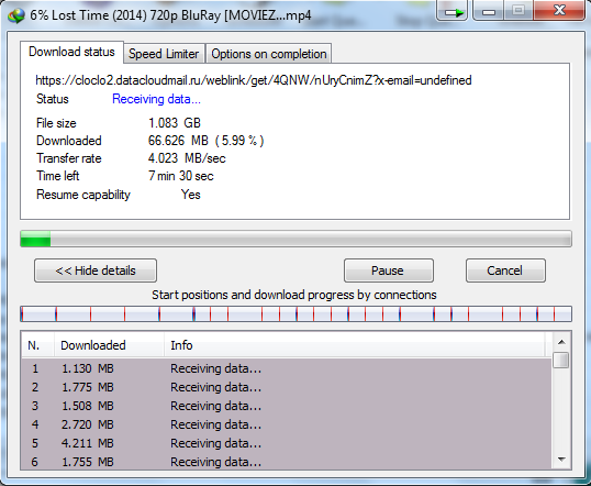 IDM Download speeds on eduroam