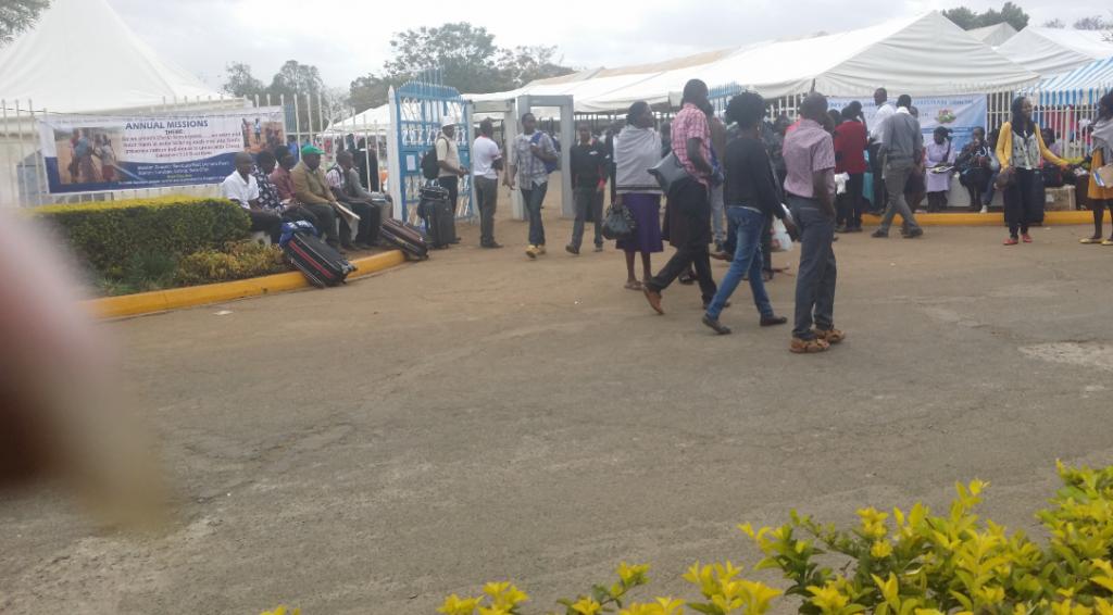 Kenyatta University graduation square