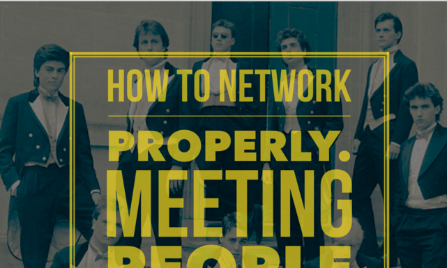 How To Network Properly Secret Revealed!