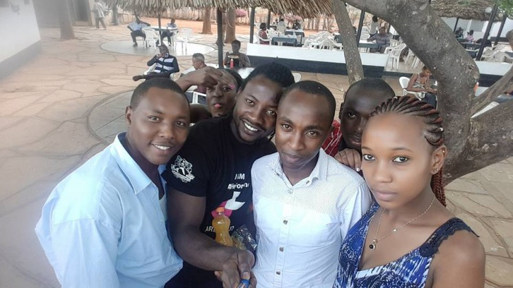 Washington Shamela, Kelvin Mugambi and Friends