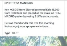When Gambling Goes Wrong, Then What? Sportpesa Manenos.