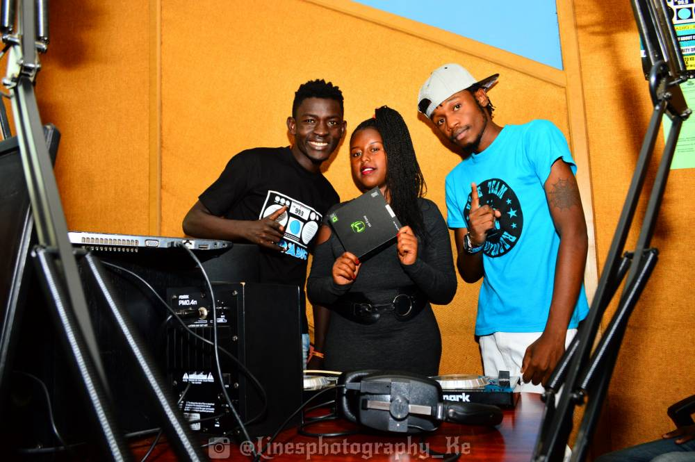 Winner of #BeiYaCampo Mi-fone Offer by #HitsExclusiveOnKUFM