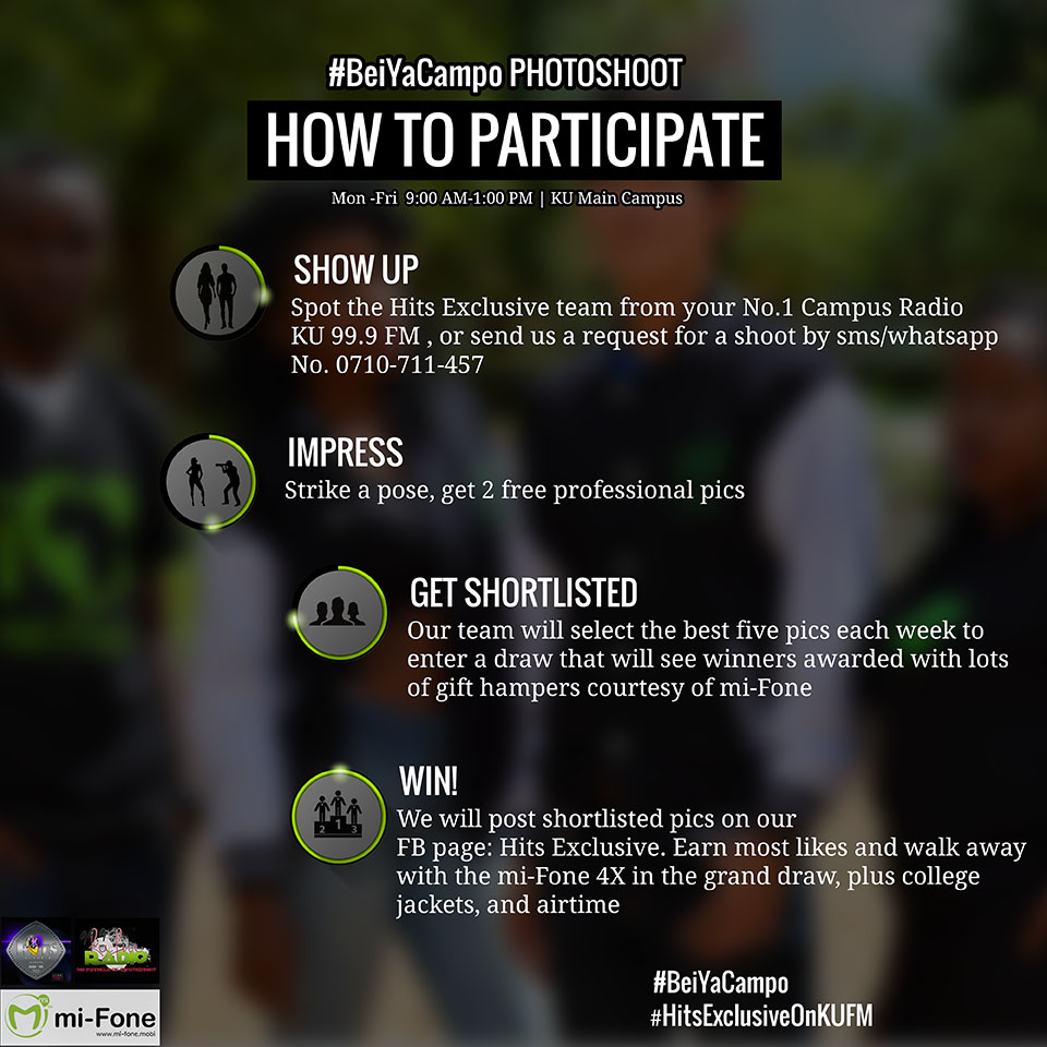 How to participate in #BeiYaCampo Mi-fone Offer by #HitsExclusiveOnKUFM