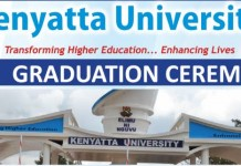 kenyatta university 40th graduation provisional list