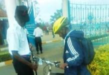 KU kenyatta University Gate Inspection