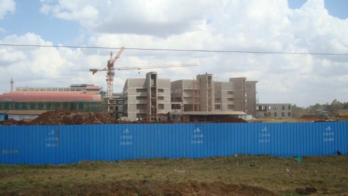 Kenyatta University Childrens Hospital Construction