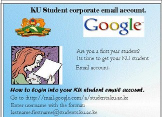 KU Student Corporate Email Account