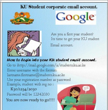 KU Student Corporate Email Account