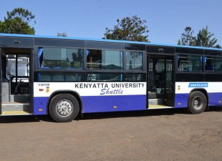 Kenyatta University Shuttle Bus