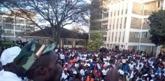 President Were Were Sam Rally