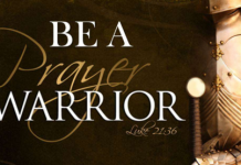 Be a Prayer Warrior
