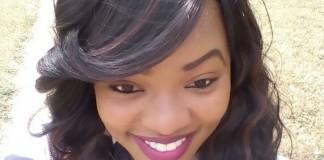 Miss Gorreti Mirera - winner Miss University Kenya 2016
