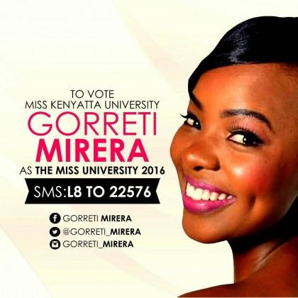 Miss Kenya University 2016