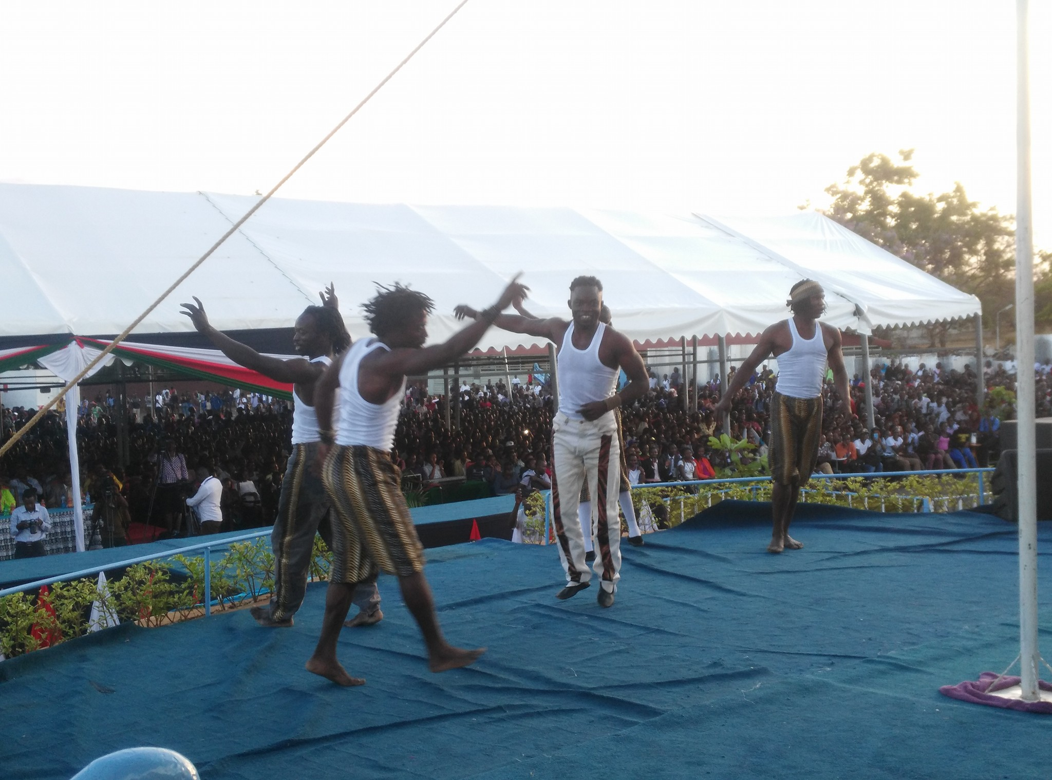 Dancers on Stage at Culture Week 2016