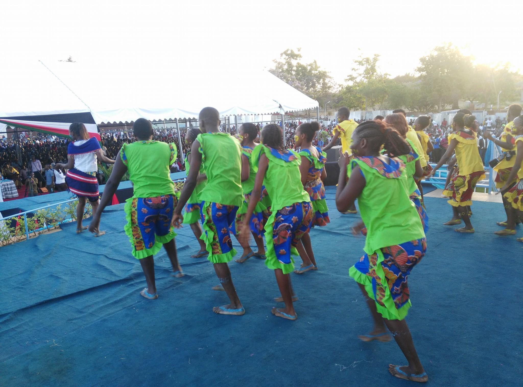 Traditional Cultural Dancers Kenyatta University