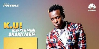 Willy Paul Mseto Campus Tour Is Coming To KU This Saturday At The Bishop Square From 1.00-6.00pm