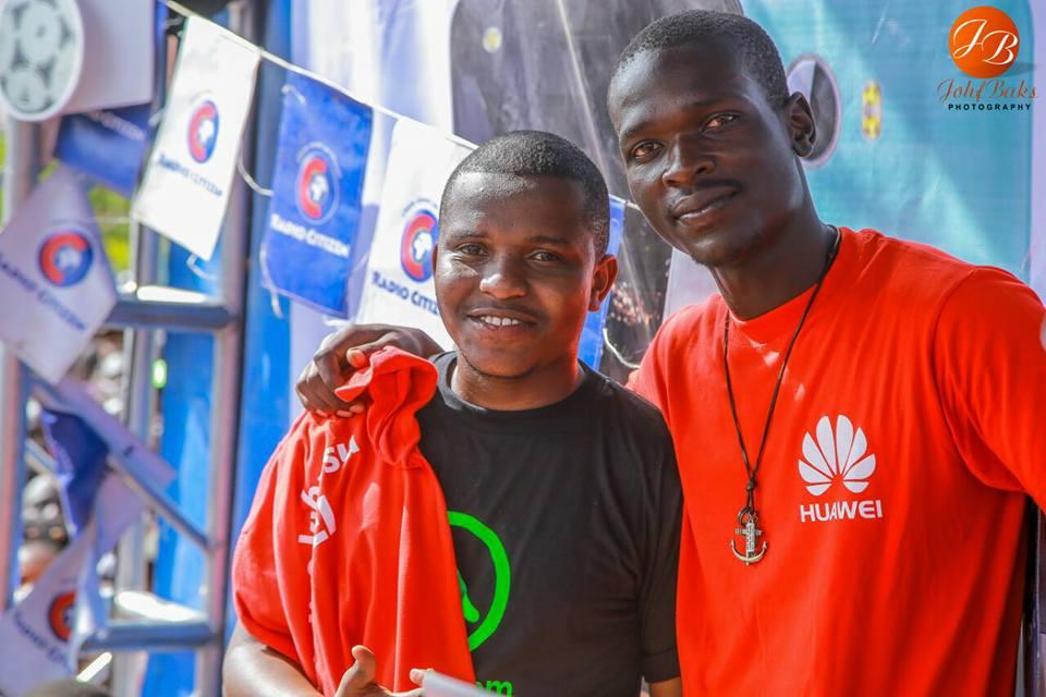 Amos Njeru and Don the Black on Mseto Campus Tour Kenyatta University