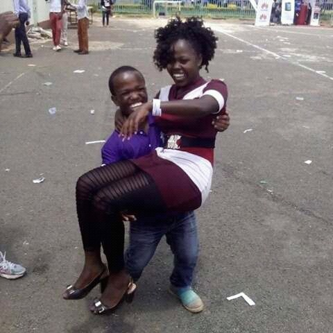 CAUGHT ON CAMERA: This is What KU's Mariga Was Doing To Ladies at Mseto Campus Tour!! [PHOTO/VIDEO]