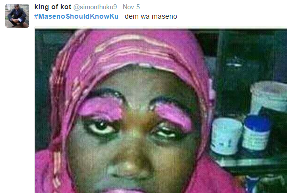 MasenoSHouldKnow 5 Maseno Kenya make up artists be like