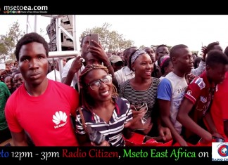 Frasha Perfoming On Mseto Campus Tour (Kenyatta University)