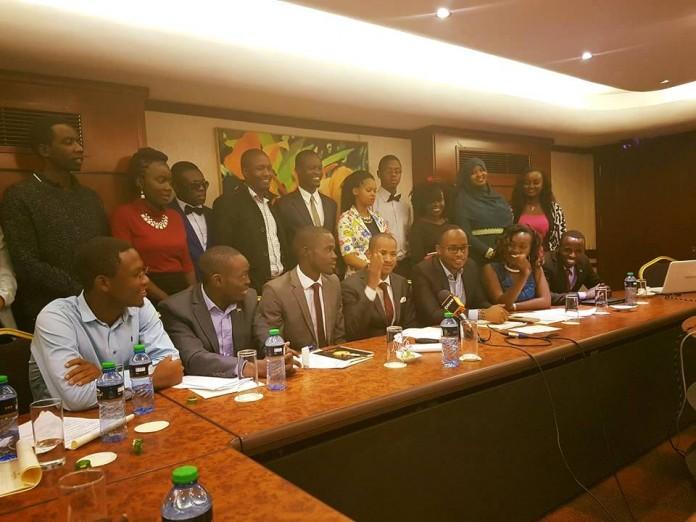 KUSA President Sam Were Were In Historic Talks With KUSO President Babu Owino.