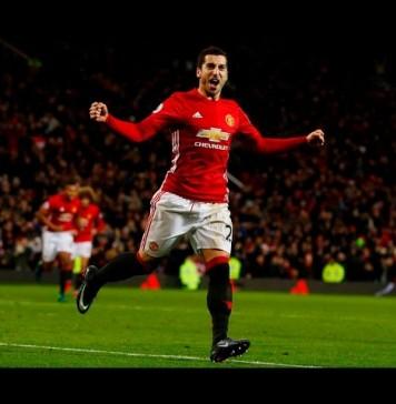 Mkhitaryan Backheel Goal vs Sunderland - Manchester United vs Sunderland 3-1