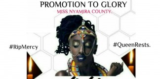Miss World Nyamira Light a Candle Event to Take Place Tomorrow.