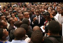 President Were Were Out to Unite Nyayo Zone Students.