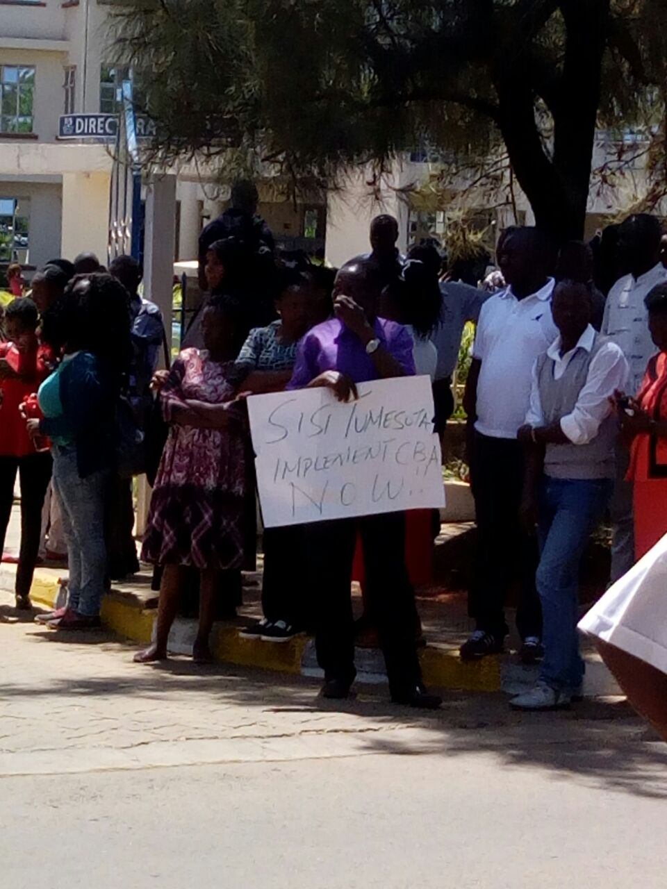 Kenyatta University Strike By Lecturers and Staff
