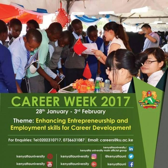 Kenyatta University Career Week 2017