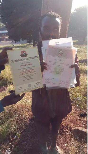 Kenyatta University Jobless Graduate