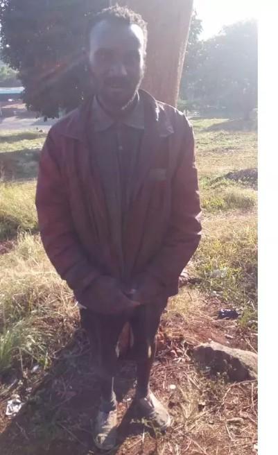 Nairobi Street Beggar