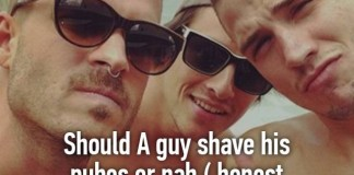 Should guys shave or Naah