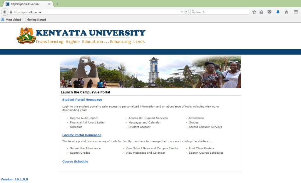 How to Register Units Online Kenyatta University Students' Portal