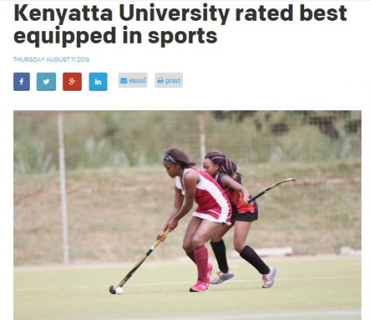Allowances For Kenyatta University Sports Persons