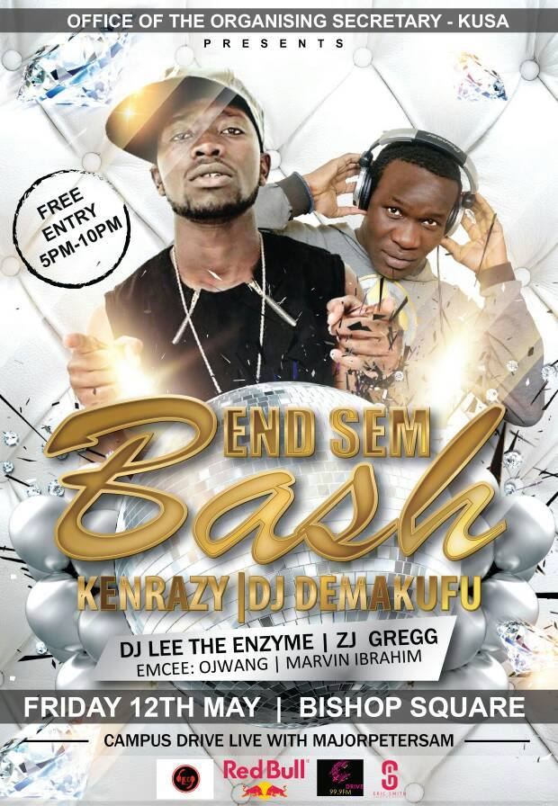 KU End of Sem Bash Kenrazy May 2017