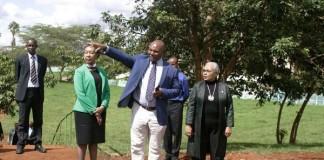First Lady Margaret Kenyatta Tours Championship Facilities