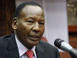 Interior CS Joseph Nkaissery is dead