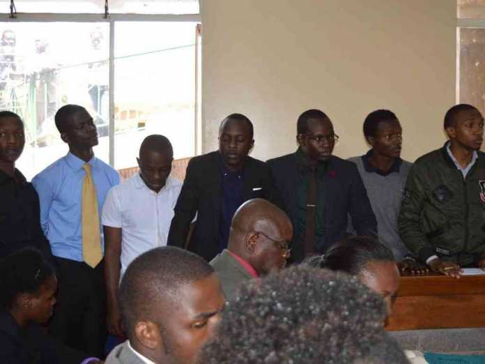 [VIDEO] 7 KU students charged with burning Sh102 million property