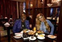 Brian Kibet and Vera Sidika on a Date at Luxury 5 Star Hotel