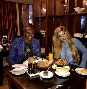 Brian Kibet and Vera Sidika on a Date at Luxury 5 Star Hotel