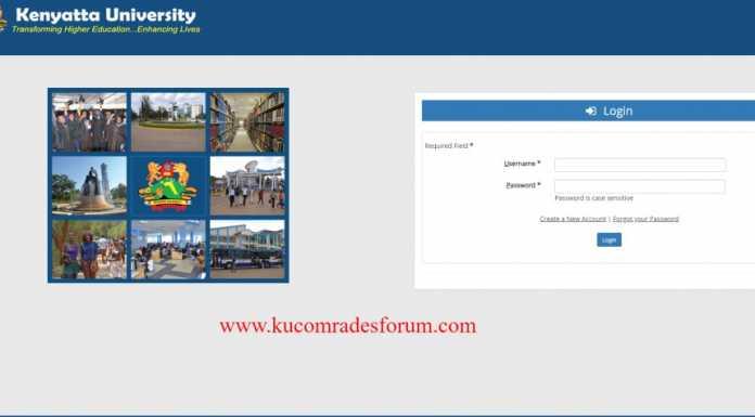 Kenyatta University Grading System