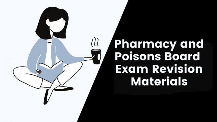 Pharmacy and Poisons Board Stage 1 and Stage 2 Exams Model Papers
